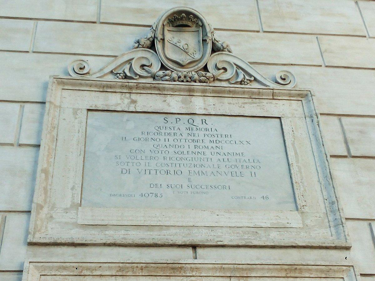 facebook.com/gianlucaguidat… Anche una semplice targa in marmo, come una di quella in mostra a Palazzo Senatorio, raccontano molto della storia, anche recente, di #Roma... #romeisus #Rome @isolearan1 @MagTua @RomaTouring @8romaamor8 @igersroma