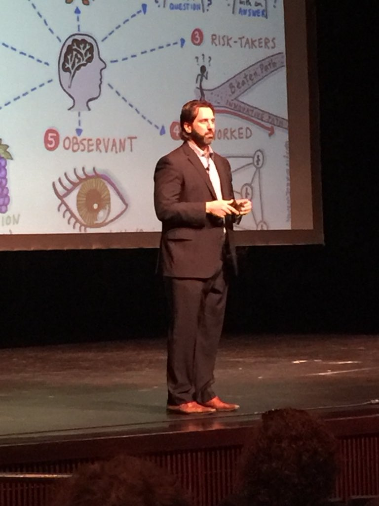 The smartest person in the room, is the room! @gcouros #I2sdale