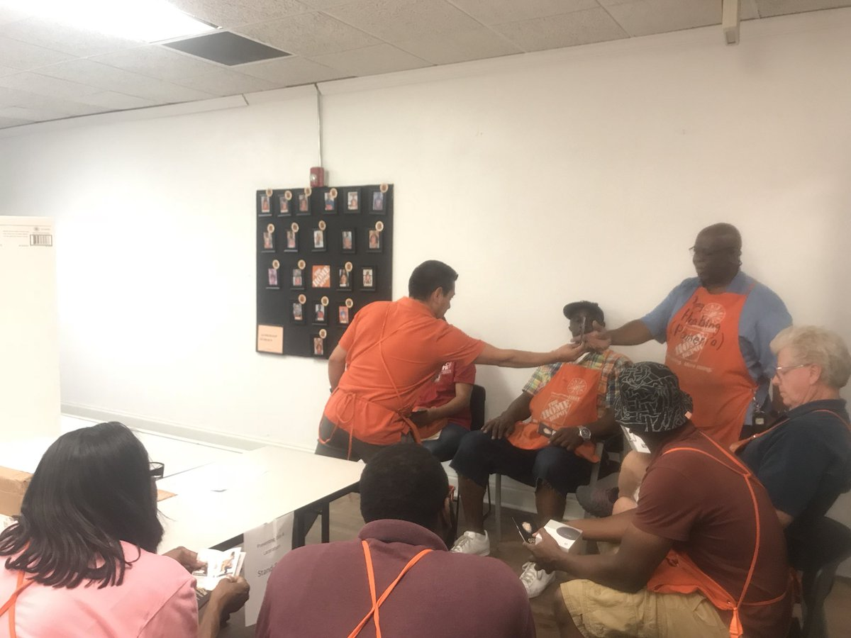 Home Depot Westbury On Twitter Talking Safety With Our Opening