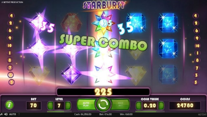 Trucchi slot machine starbust