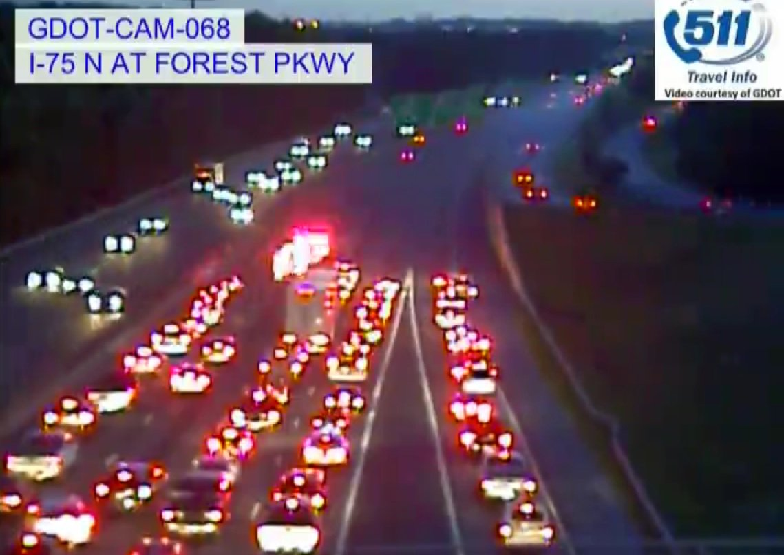 Wsb Radio On Twitter Clayton Co All Lanes Being Held I 75 Nb Car Interior Lights Delay Already Seeing Heavy Delays It From Hwy 19 41 Atltrafficpic Tuznt7krwo