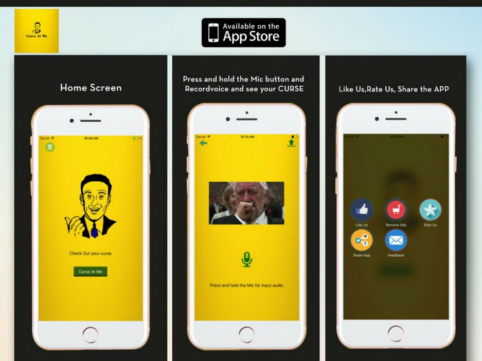 Download Curseatme App And Laugh On Your Own Curses And Laugh As Much As You Can Https Apple Co Kvxu Funnyapp Iosapp Appsforfreepic Twitter Com