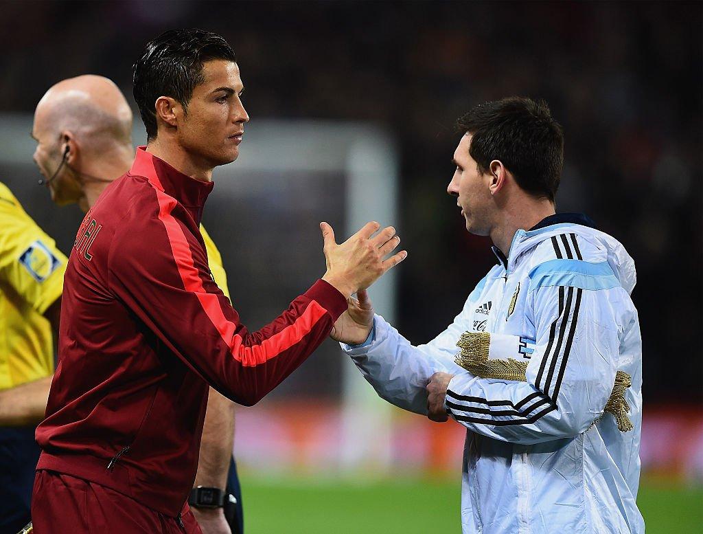'Ronaldo đã tới, giờ chúng tôi chờ Messi!'