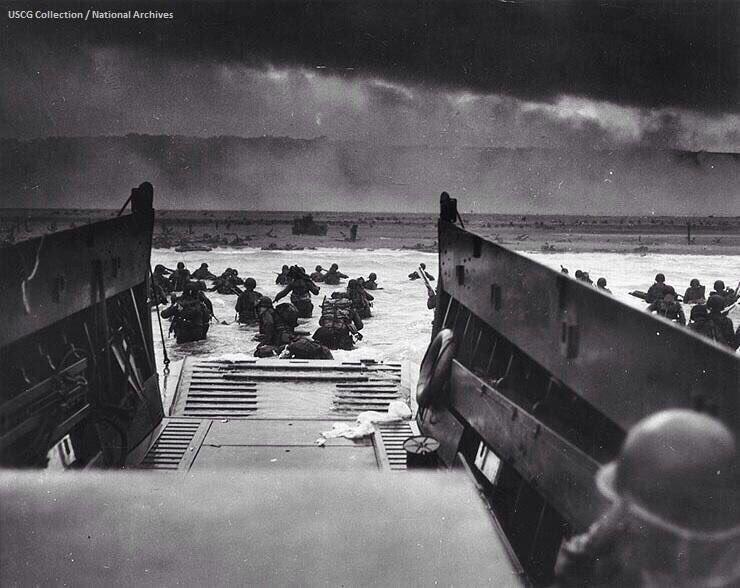 Dawn, 74 years ago today. #DDay