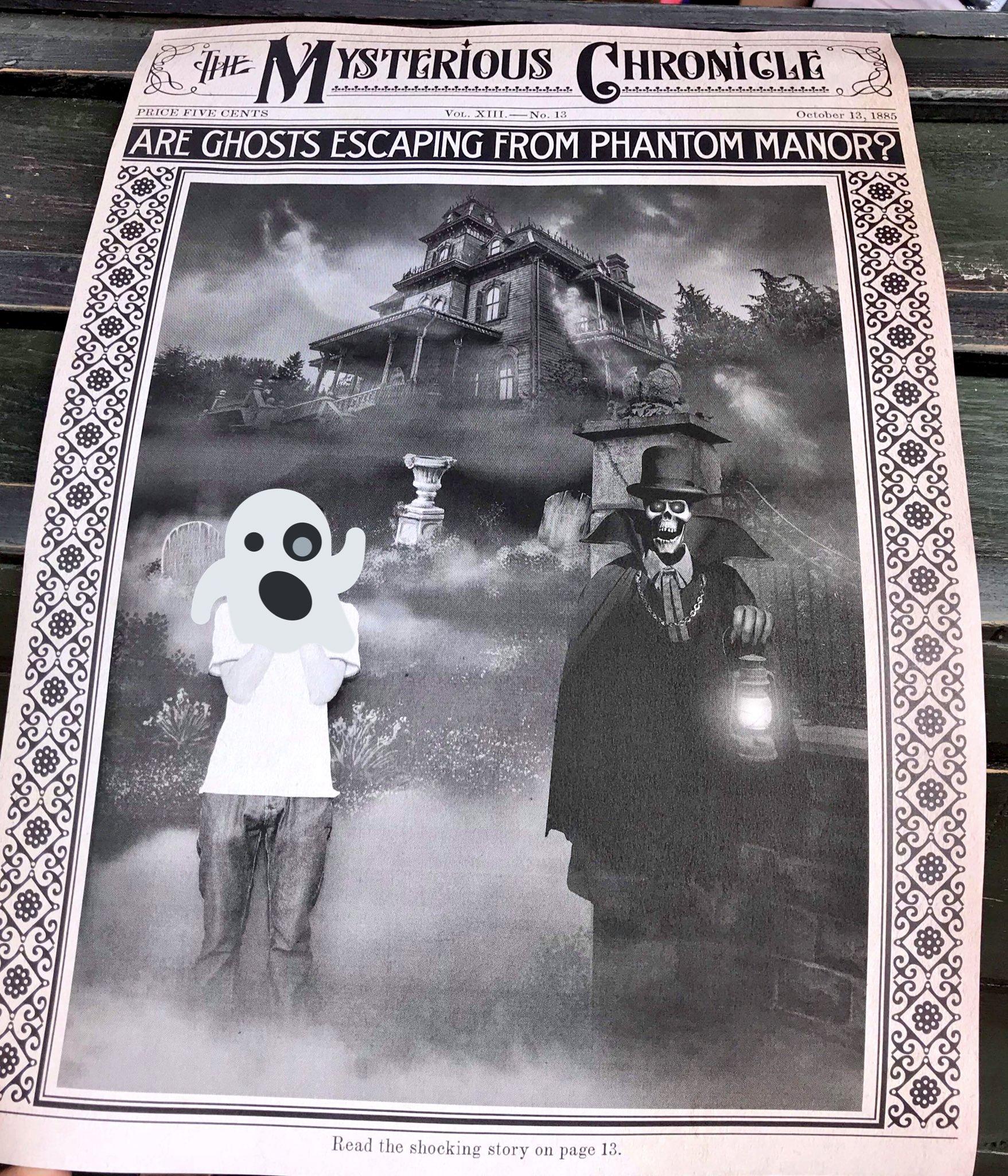 [PhotoPass] Arrivée du Magic Shot avec les personnages de Phantom Manor à Frontierland - Page 4 DfARDmPWsAAKz7i