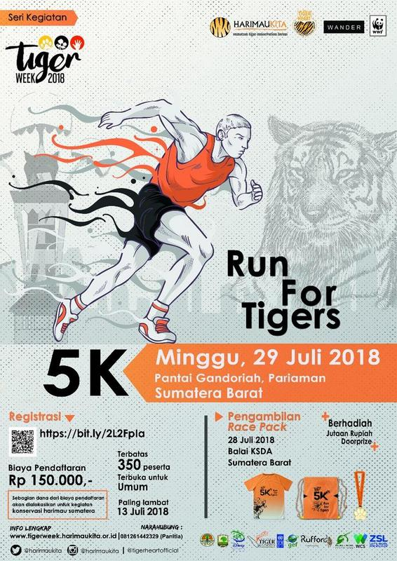Run for Tigers • 2018