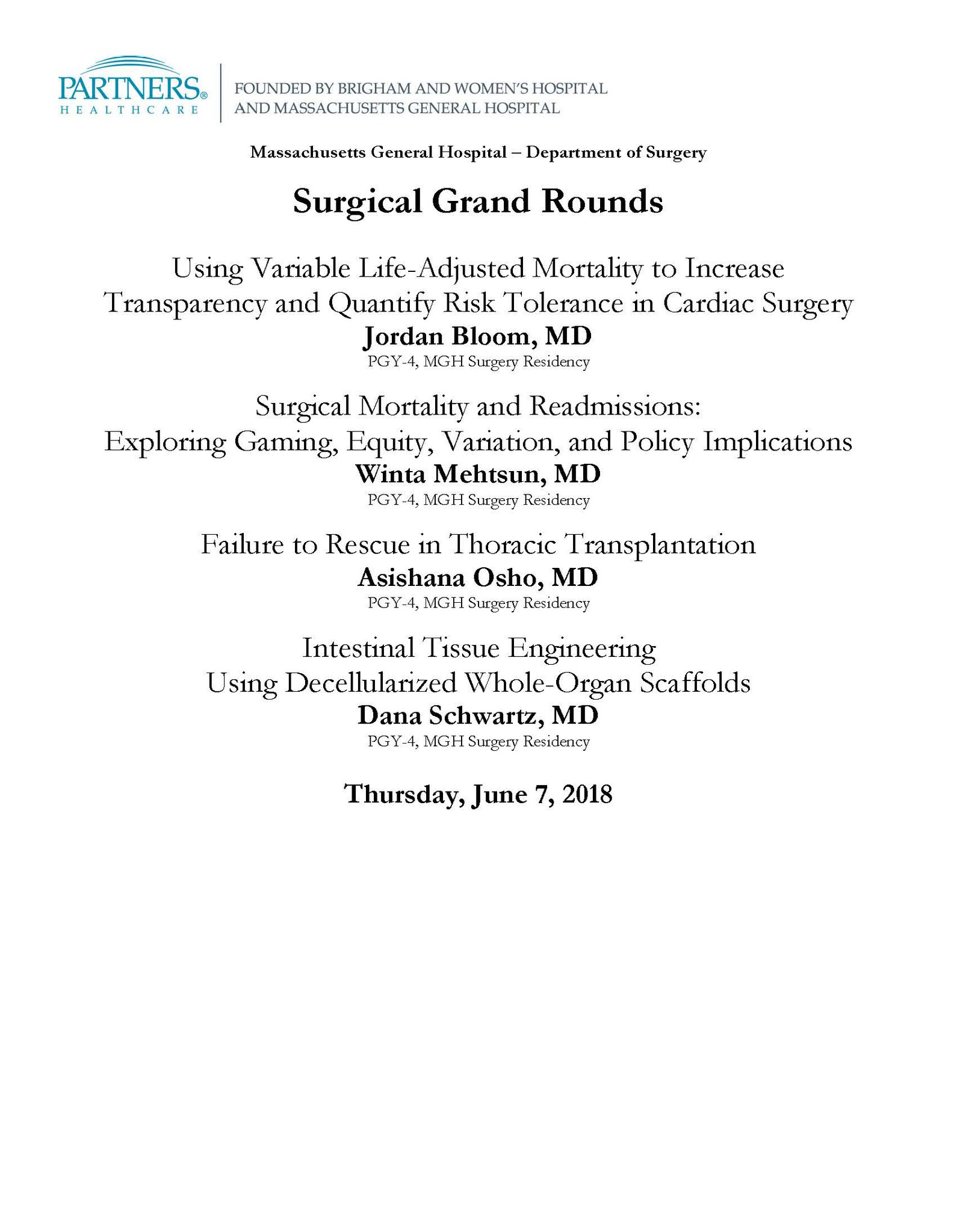 Mass General Surgery on Twitter: