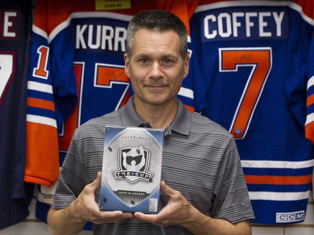 Edmonton Journal On Twitter Edmontons Hockey Card