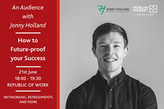 "Thursday, June 21st is a date to book in the calendar & come and join @MMKIreland in Cork for an interactive event where we will be treated to expert advice & tips from @jonnyholland10 about ""How to Future-proof your Success"" Reserve a place today: https://t.co/6oBRSozQ0i https://t.co/Gg3IrHXKJ4"