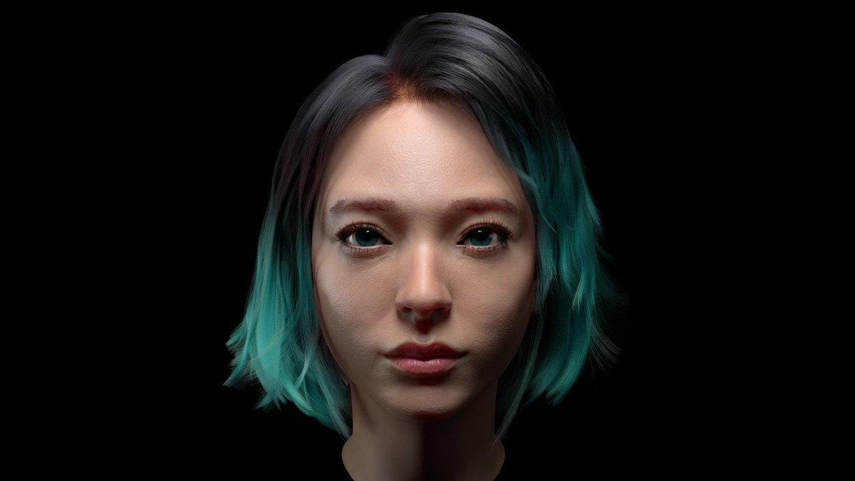 """3D Asian Girl cgmeetup on twitter: """"asian girlseungnam yang https://t"""