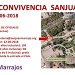 Image for the Tweet beginning: II Jornada se Convivencia Sanjuanista.