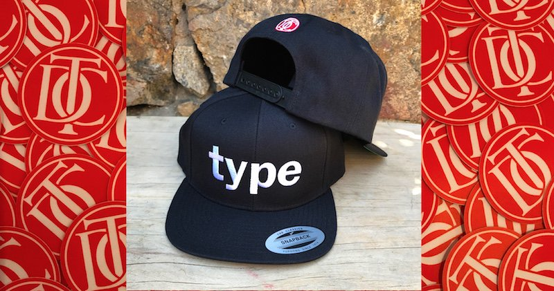 d7968b1c392 Treat yourself to a new cap! All-black and white-on-black  snapback  caps  for every occasion in the  TDC  Shop  https   type-directors-club.myshopify.com   ...