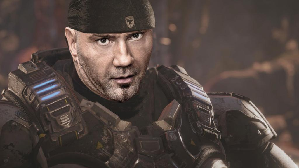 Exclusive Drax Actor Dave Bautista Play Marcus Fenix Gears