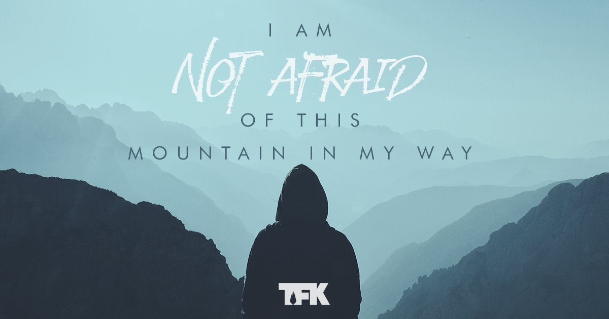 Face the mountain and start climbing. You can do harder things than you think.