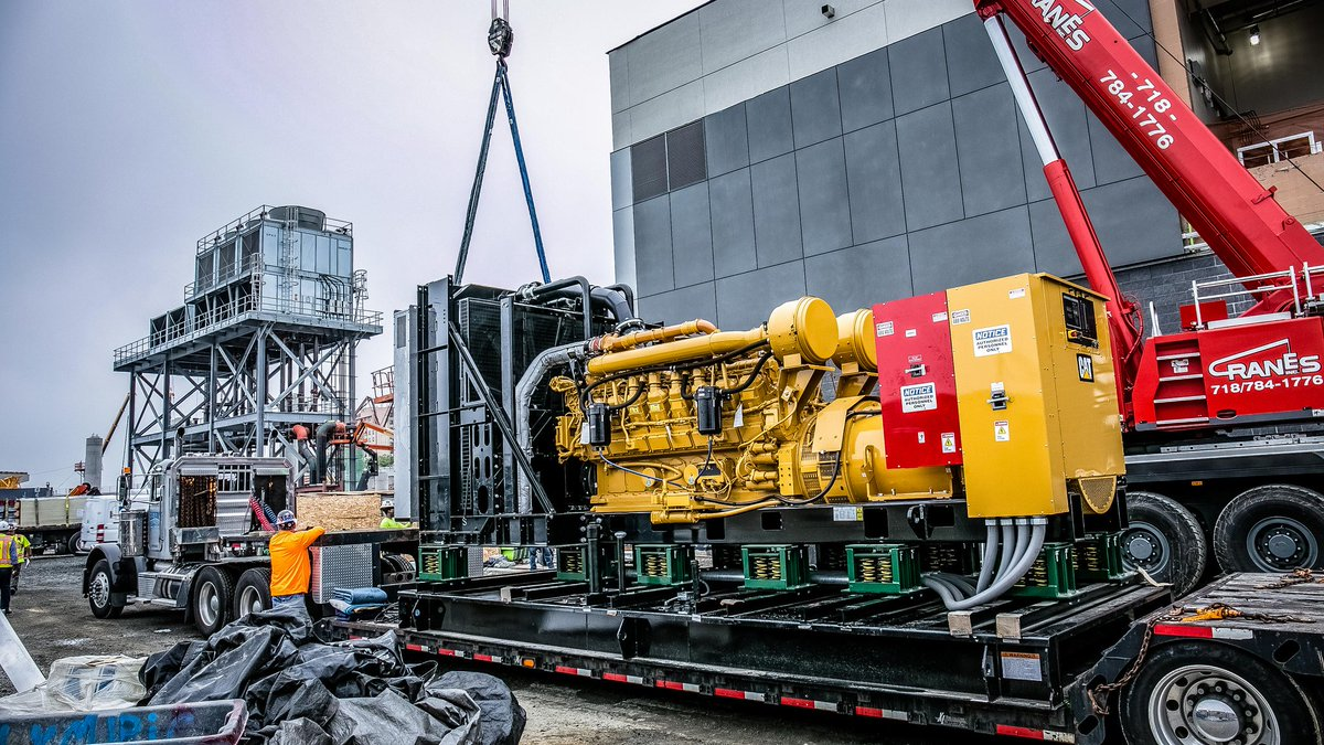 The Walsh Group On Twitter Milestone At Laguardia This 2000kw Motor Generator Project Installed Central Heating And Refrigeration Plant Part Of Terminal B Monster Is Capable Powering 500 600 Homes