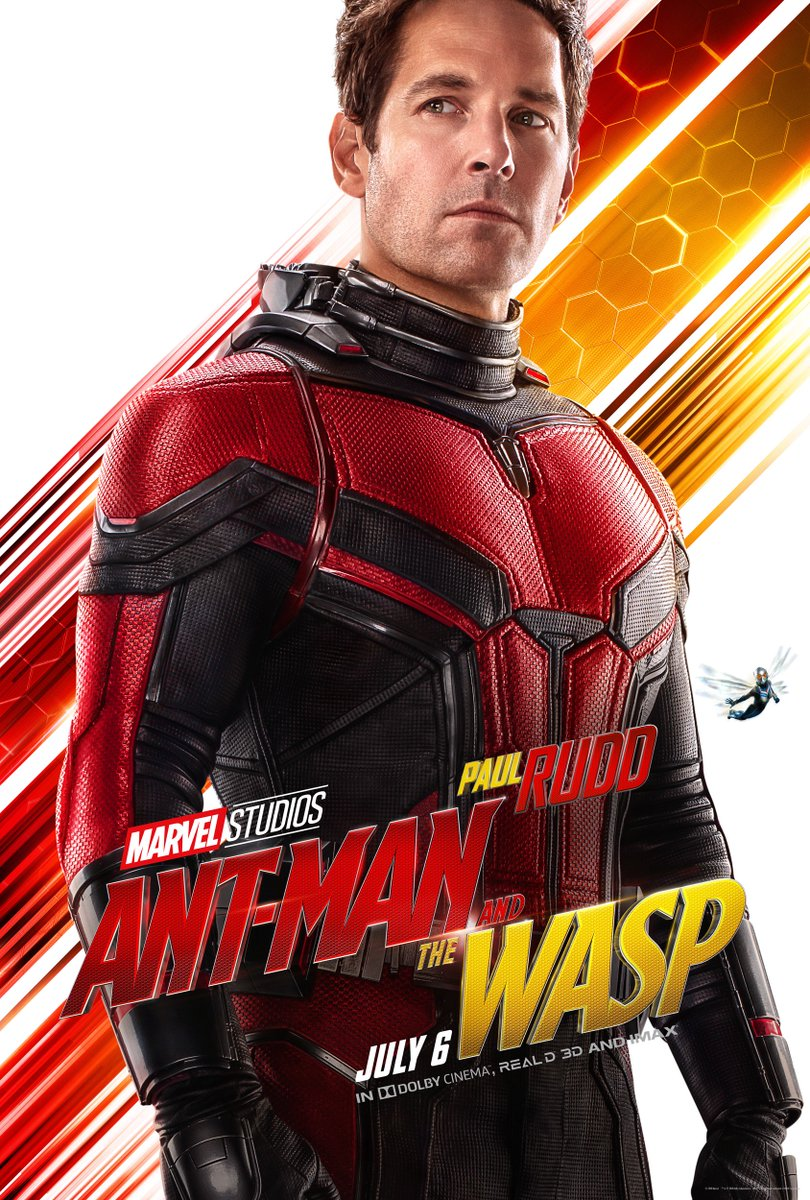 #AntMan and #TheWasp is in theaters in 1 Month.