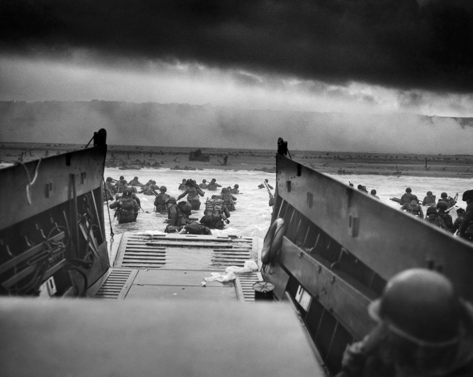 The greatest generation 74 years ago today. God blessed us with such courageous men. #DDay