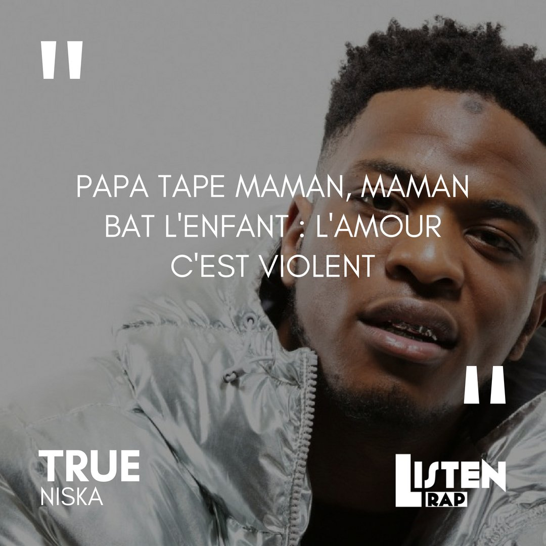 L Amour C Est Violent Niska Officiel Rap Punchline