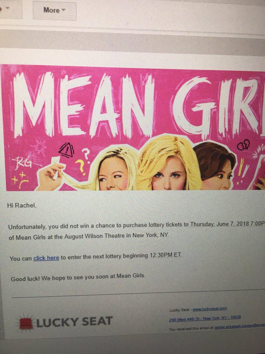 Mean Girls Broadway on Twitter: