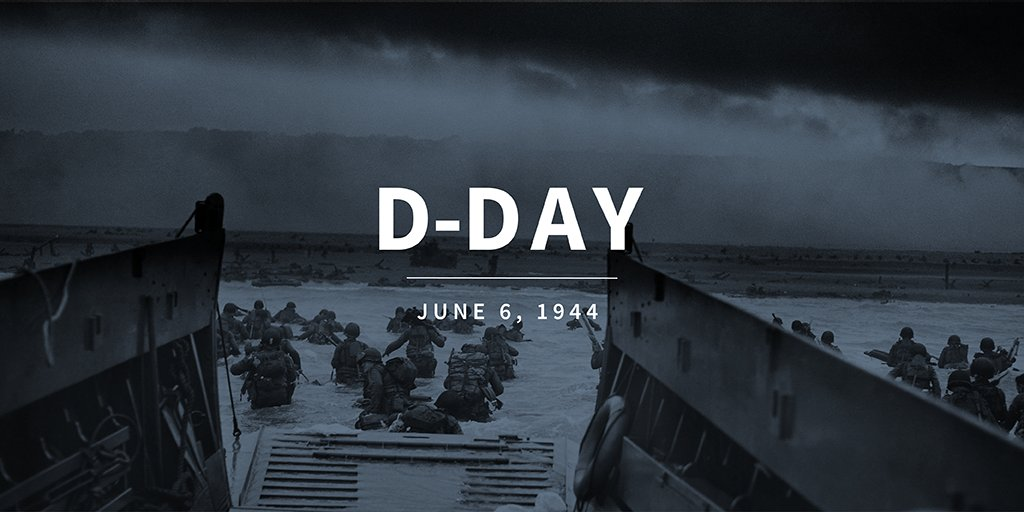 Today we remember our courageous and brave troops that stormed the beaches of Normandy 74 years ago. #DDay