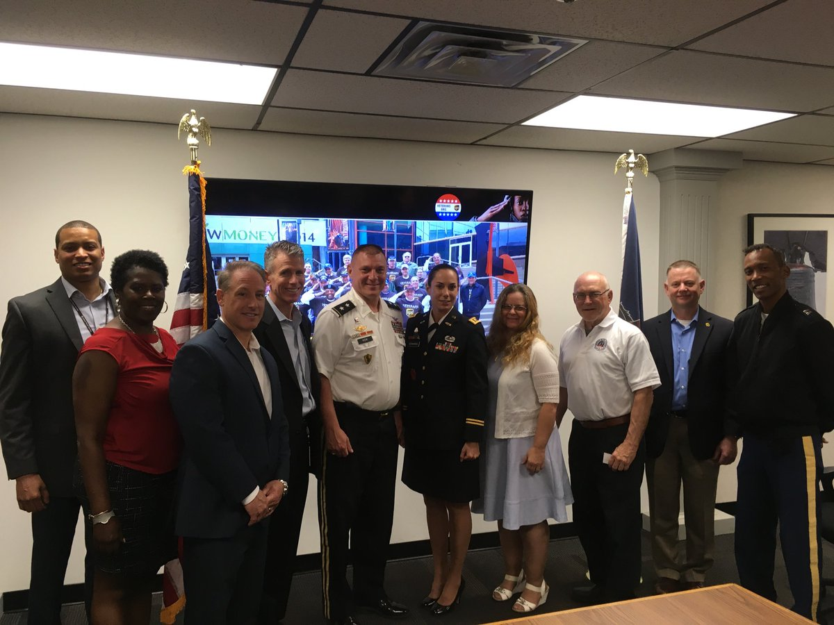 We had an opportunity to engage with Major General Troy Kok and members of his staff at our UPS district office. The topics of conversation - Job Opportunities at UPS and our Veteran connection.