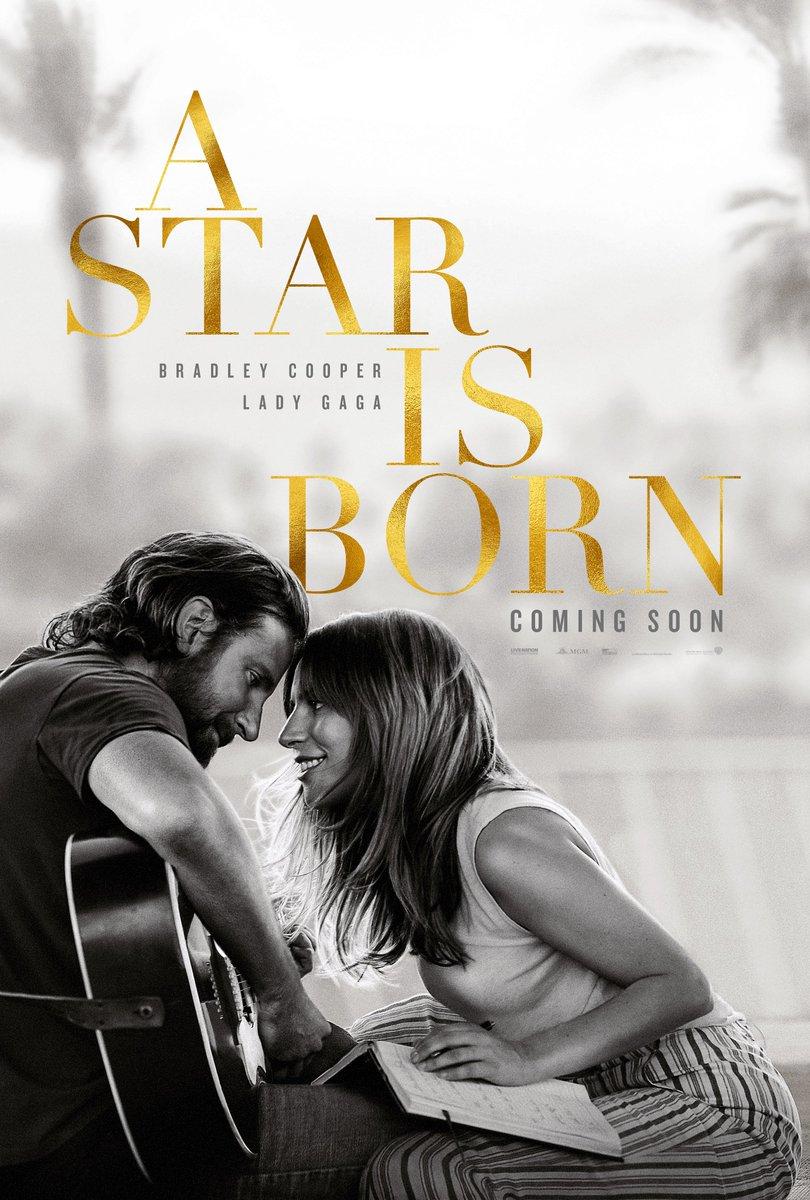 Bradley Cooper and Lady Gaga in #AStarIsBorn. In cinemas October 5.