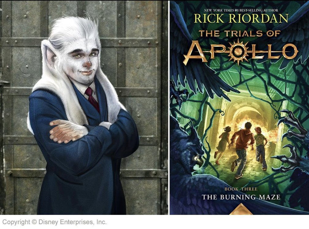 Scholastic Book Clubs On Twitter Calling All Rick Riordan Fans Check Out This Exclusive Character Art Of Crest The Pandai From The Burning Maze Have You Discovered The Trials Of Apollo Series