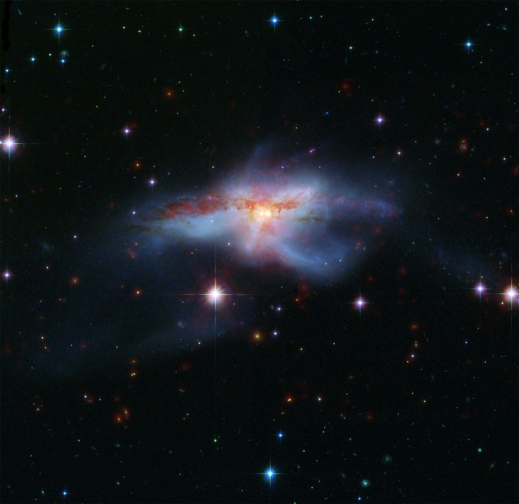 galactic alignment and solar flares - HD 1758×1706