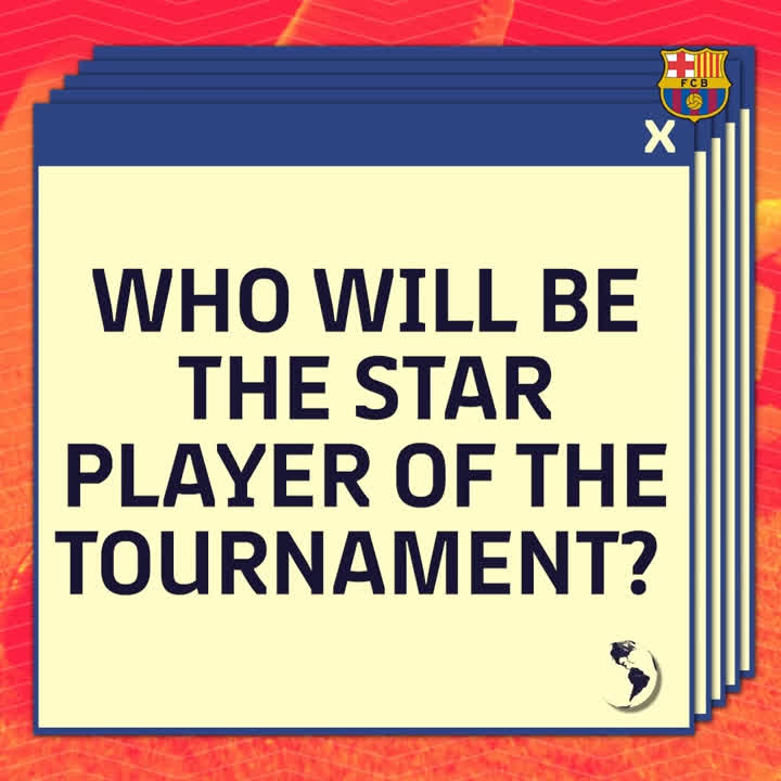 �� In today's #BarçaWorldCup quiz, we want to know - who will be the star man at the 2018 #WorldCup? https://t.co/6bt6b2yE5b