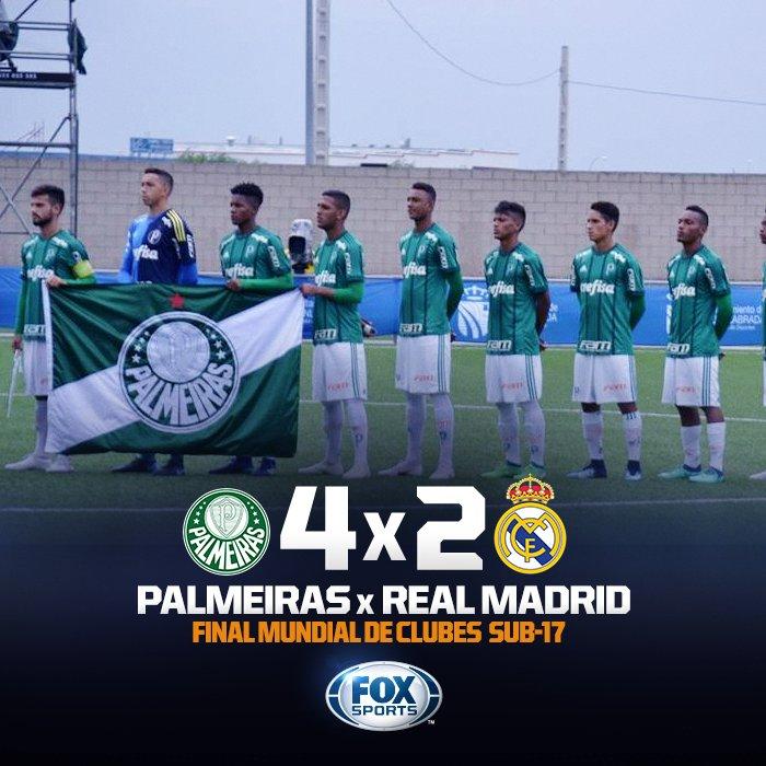 16cea68661 É CAMPEÃO! Palmeiras goleia o Real Madrid na Espanha e conquista o Mundial  de Clubes