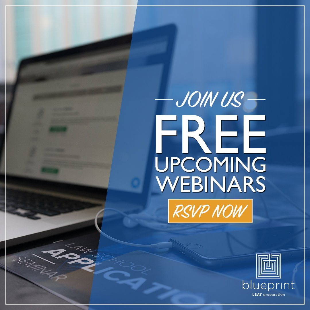 Blueprint lsat prep on twitter we are demystifying lawschool join us for a free webinar next week as we walk through the admissions process and go over what makes a great application learn more and register here malvernweather Image collections