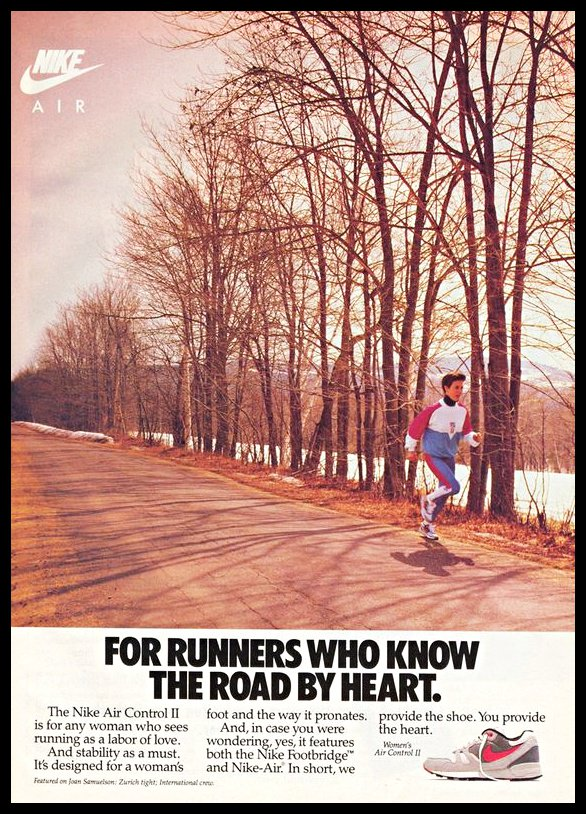 American Vintage Ads On Twitter Nationalrunningday 1980s 1990s Nike Running Shoes Vintageads 1980s 1990s Vintagefashion Nike Sneakers Running Https T Co D6zkzxfhmm
