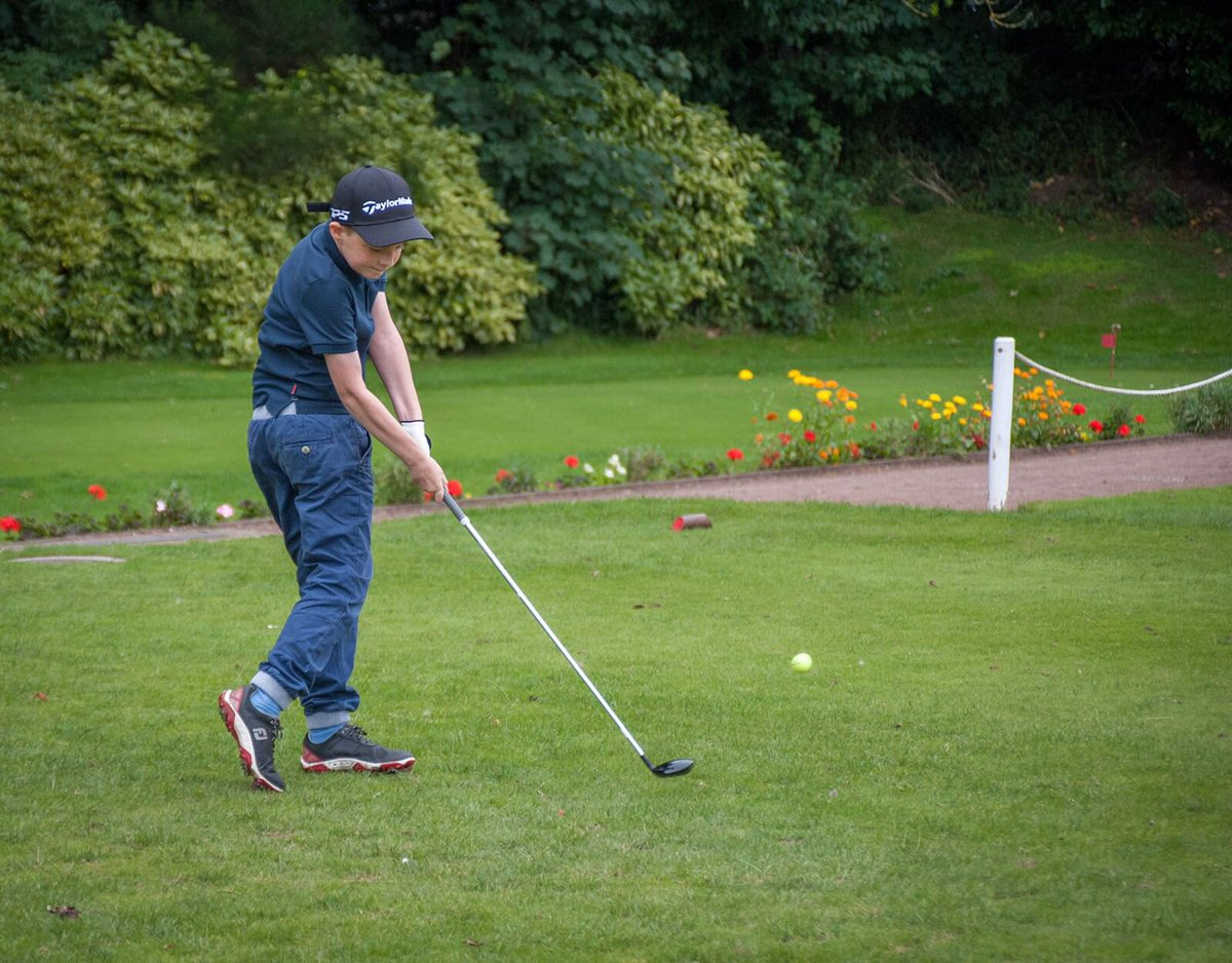 @PeterFinchGolf Love playing with my son especially when he beats me and I'm playing well #golf #withingtongolfclub
