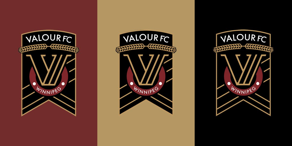 "The CanPL Hub on Twitter: ""The Valour FC colour scheme. #CanPL ..."