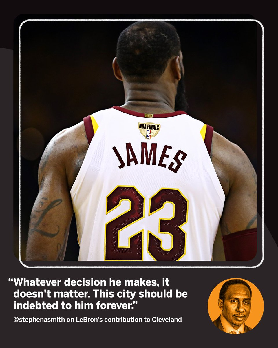 LeBron doesn't owe Cleveland ANYTHING.