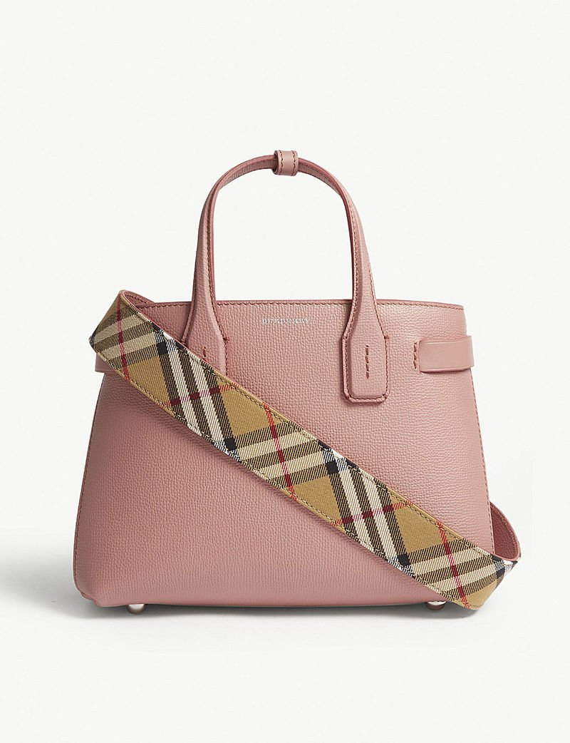 2eca548f70c1 dusty rose totes burberry s new banner tote bag is made in a summer ready  shade