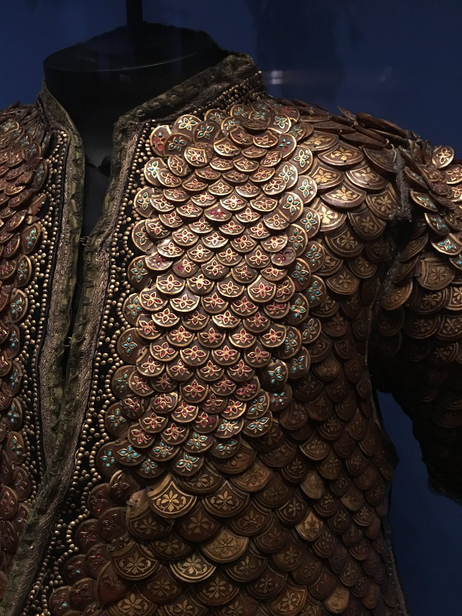 yael rice on twitter this suit of armor is made of jeweled