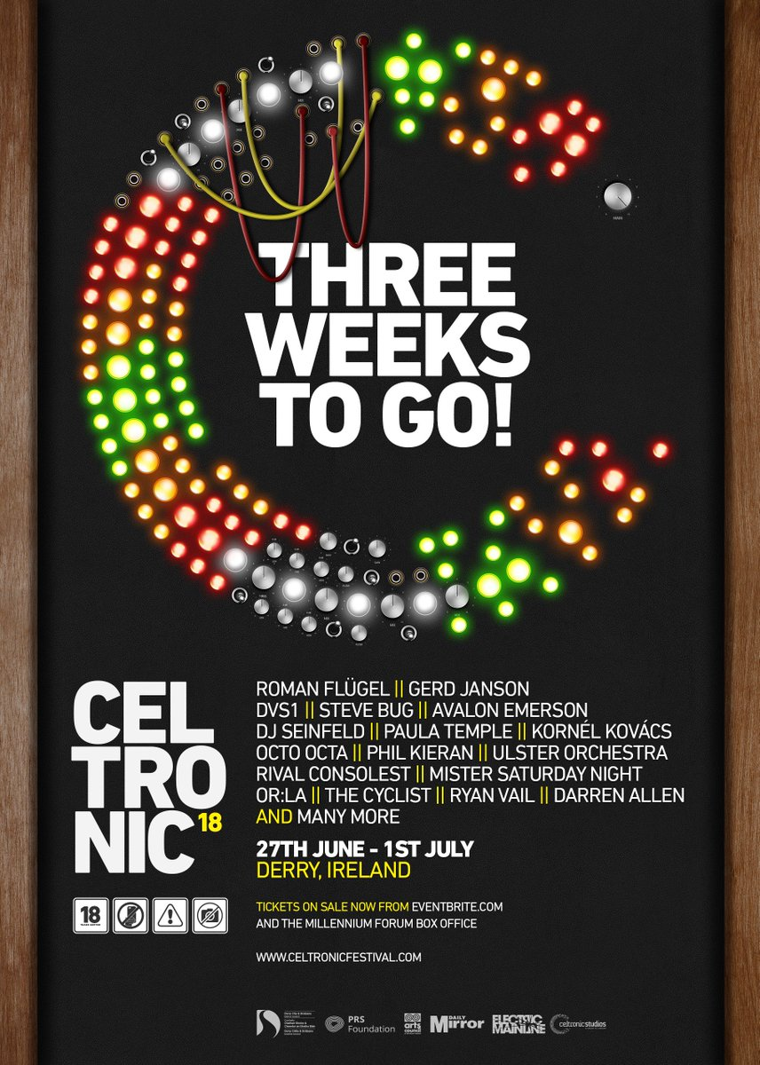 Celtronic Derry on Twitter: