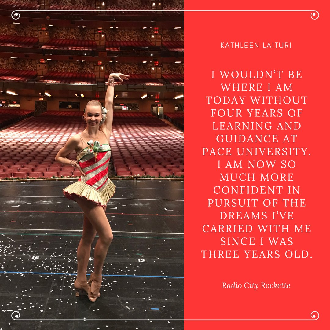 if you saw the radio city christmas spectacular this year one of those eye high leg kickers was paceu 30 under 30 kathleen laituri - How Long Is The Radio City Christmas Show