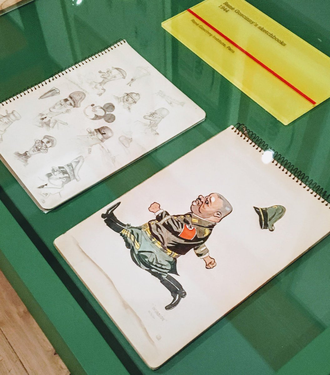 Goscinny's sketches of Nazis