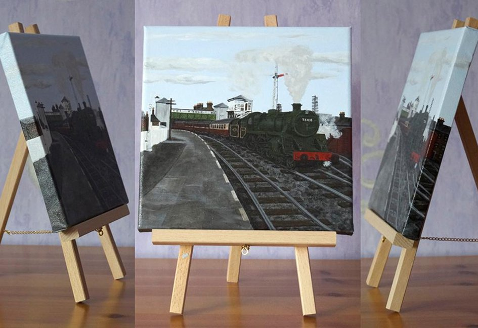 Souterpics On Twitter Acrylic Painting Br73108 Leaving