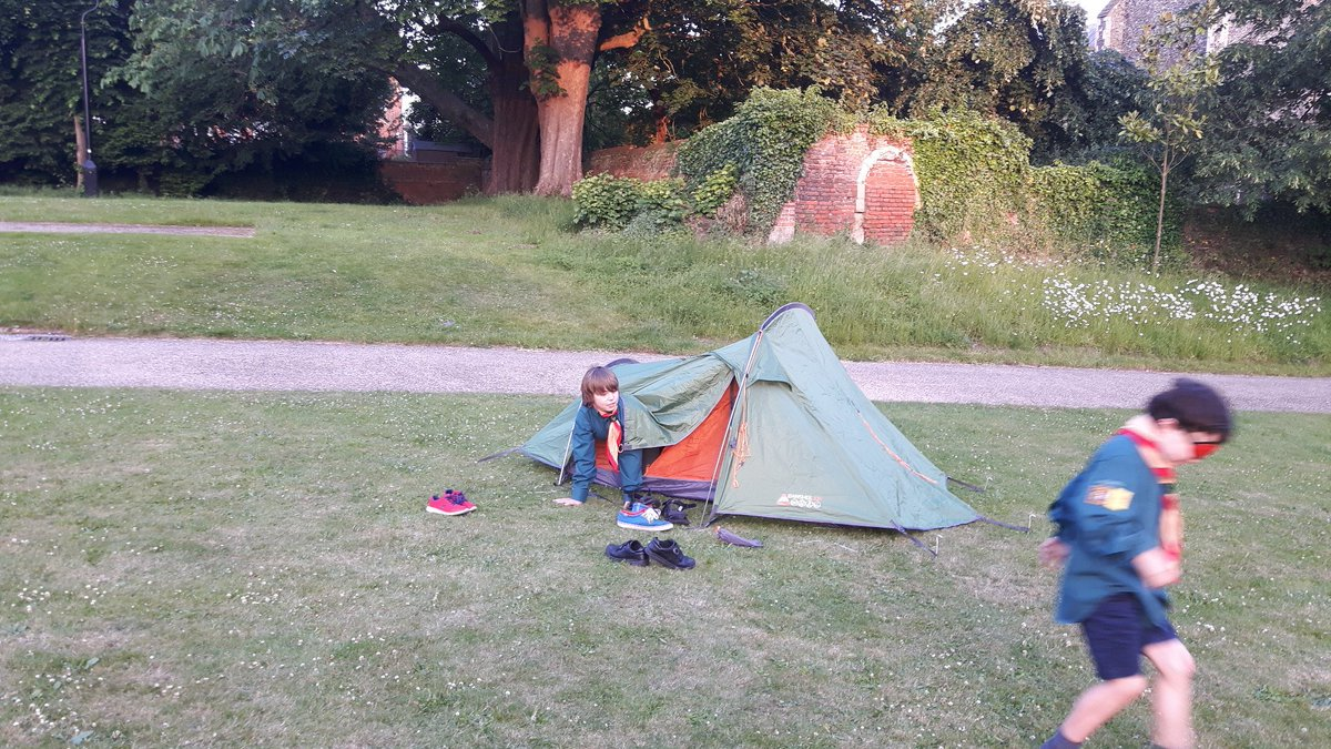 26th Ipswich Scouts On Twitter Giftyourgear Blindfold Tent