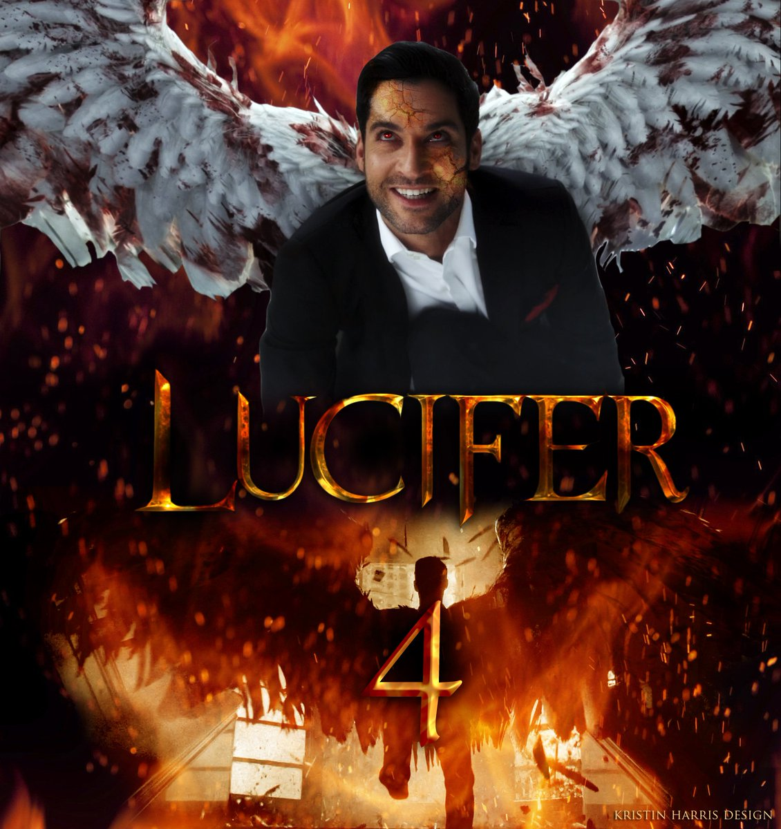 "Lucifer Season 4 Promo S: Kristin Harris On Twitter: ""I've Been Seeing Some Awesome"
