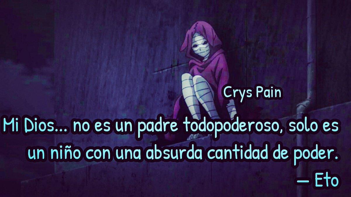 Crys Pain в твиттере Frases Anime Tokyo Ghoul Re Eto