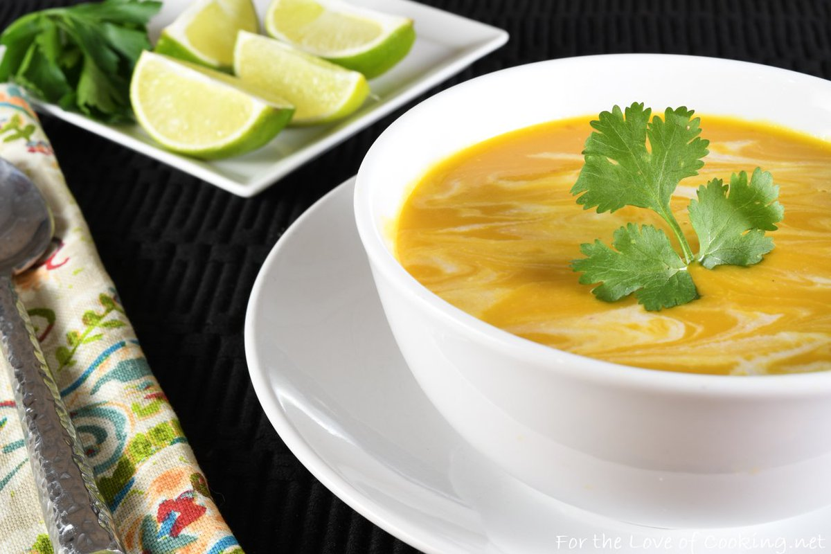 Please RT! #recipes #food Thai Curried Butternut Squash Soup https://t.co/5zebrfHlXL https://t.co/jOS6Ui0dOK
