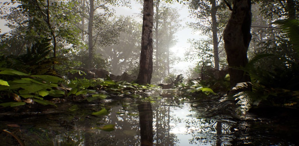 quixeltools This beautiful forest scene comes to us from