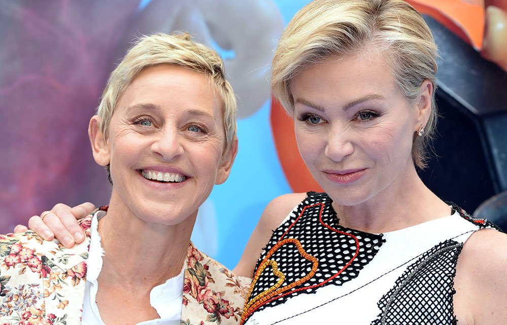 Ellen DeGeneres is reportedly going through a $400 million dollar divorce with Portia https://t.co/0XUJ62nMfR