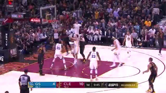 ���� OH YES HE DID! ����  #WhateverItTakes #NBAFinals https://t.co/Axun0gOmok