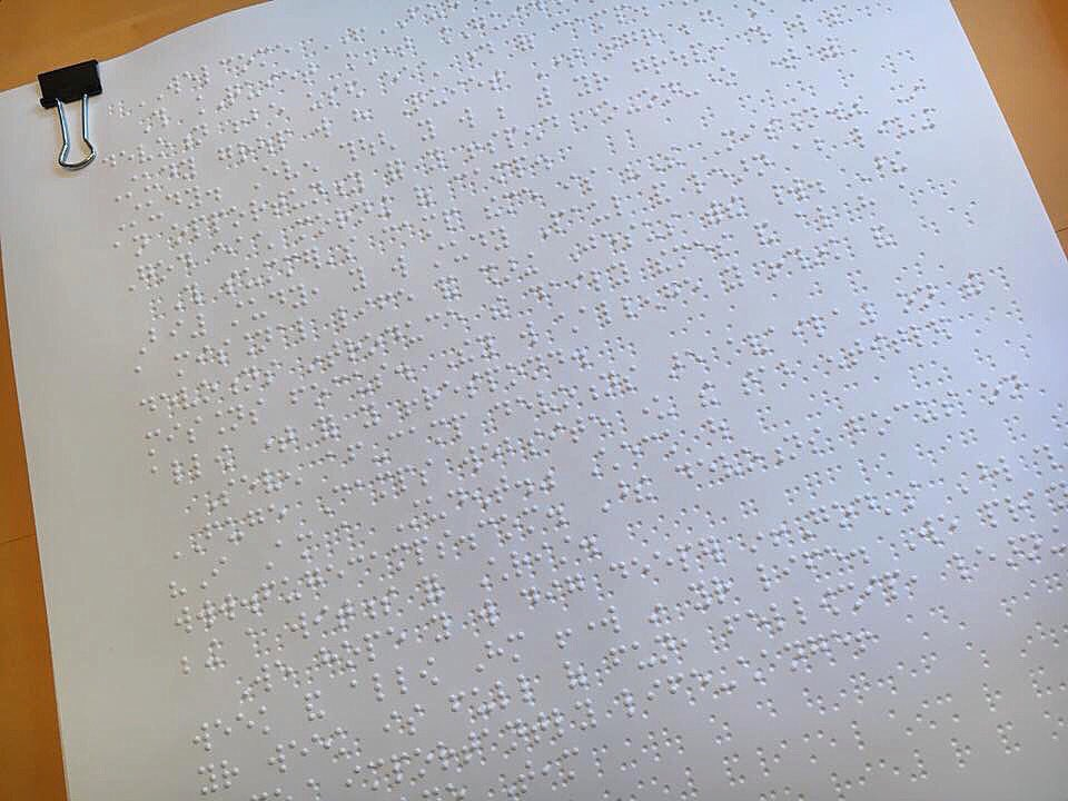 test Twitter Media - We desire for all aspects of camp to be equally accessible to every student who attends. It is so cool to see our Quiet Time guide in Braille! We look forward to how the Lord will use quiet time this summer at camp. https://t.co/hobJ74u9X3