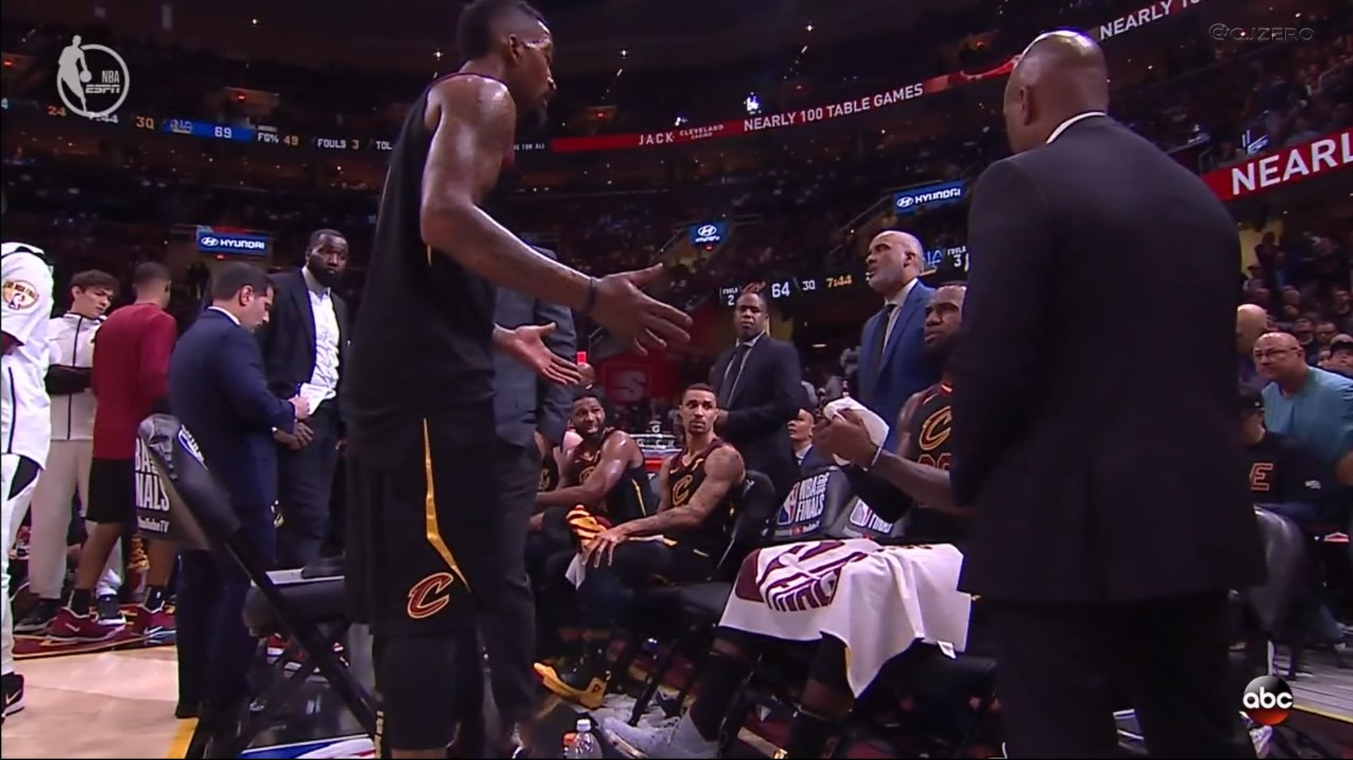 'Bron, I swear I know what the score is. Swear.' https://t.co/kOX1Qy3s0K